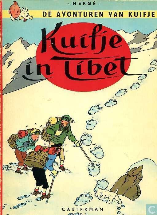 Hergé ~ Kuifje in Tibet (Tintin au Tibet) 1960(1958)