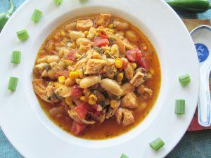 Hearty White Bean Chicken Chili   Simply Bitten Kitchen   Pinterest