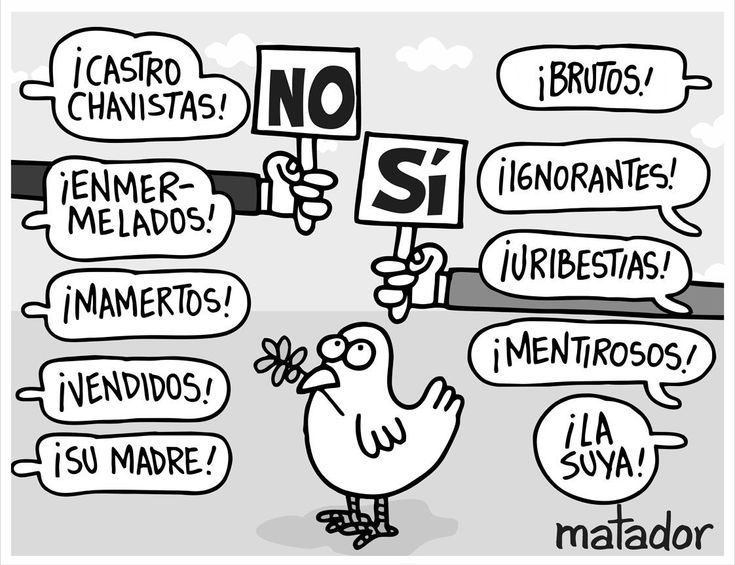 La Paz Nos Divide by Matador.