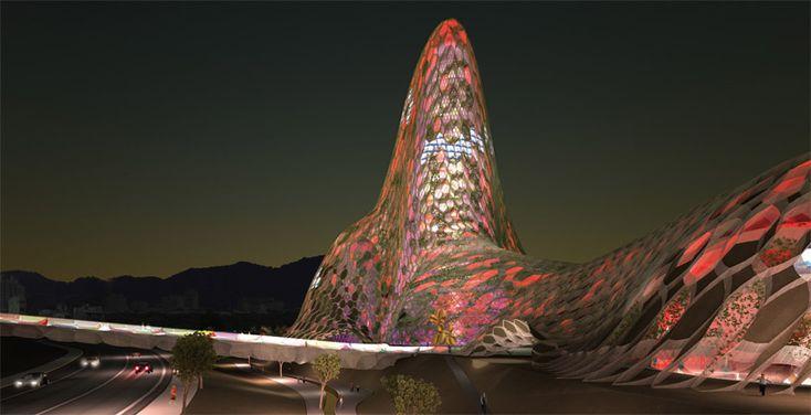 Taipei City Museum of Art by Kengo Kuma & Associates. Taiwan