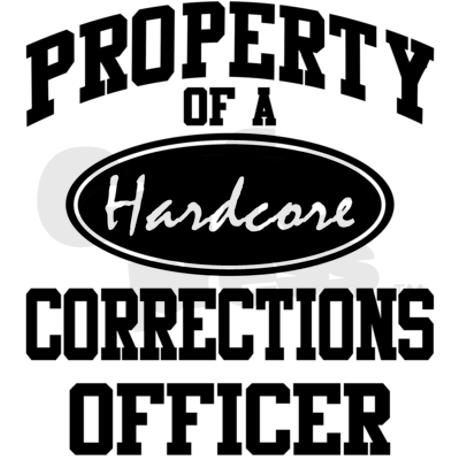 A great gift for the correctional officer that likes to go to the gym. Features an athletic style design for the hardcore corrections officer!