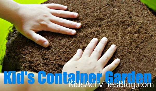 kids container garden with online learning component: Gardens Kids, Idea, Kid Activities, Activities Kids, Kids Stuff, Kiddo Crafts Acting, Kids Activities, Kids Gardens, Garden Kids