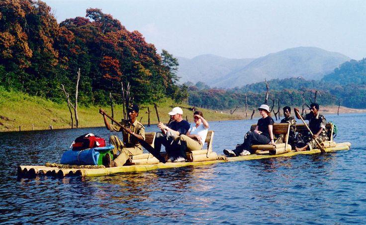 Bamboo Rafting at Periyar #WorldwideAdventures