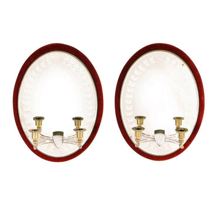 Pair of Victorian Girondelle Mirrors