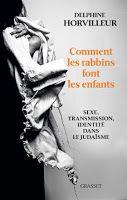 Les Livres de Philosophie: Delphine Horvilleur : Comment les rabbins font les enfants. Sexe, transmission et identité dans le judaïsme