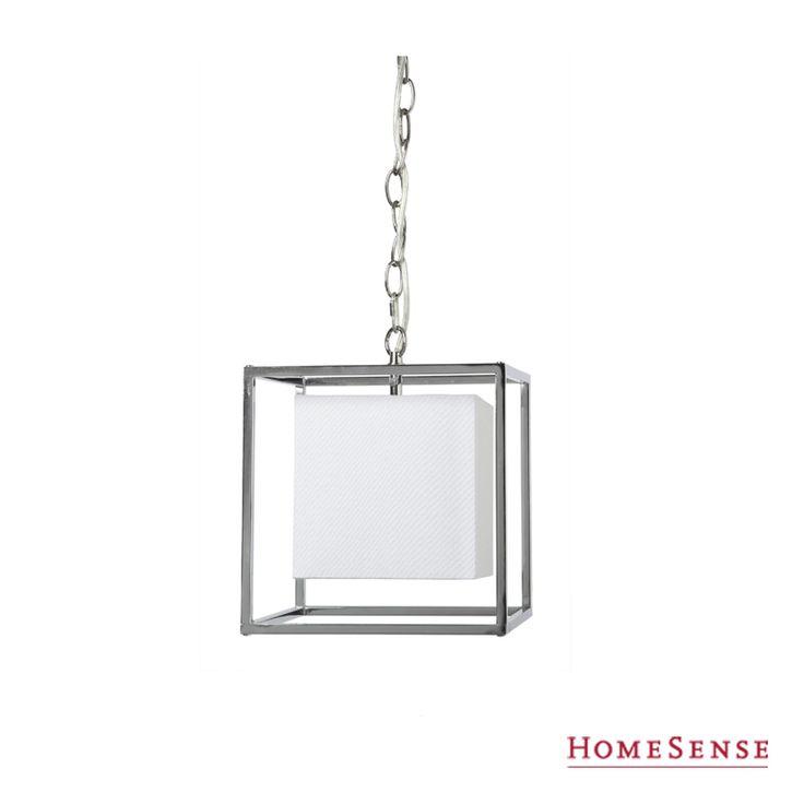 Hanging beauty. This pendant light is too good to handle! #MyHomeSense // Une beauté lumineuse. Un luminaire qui illumine votre décor! #MonHomeSense
