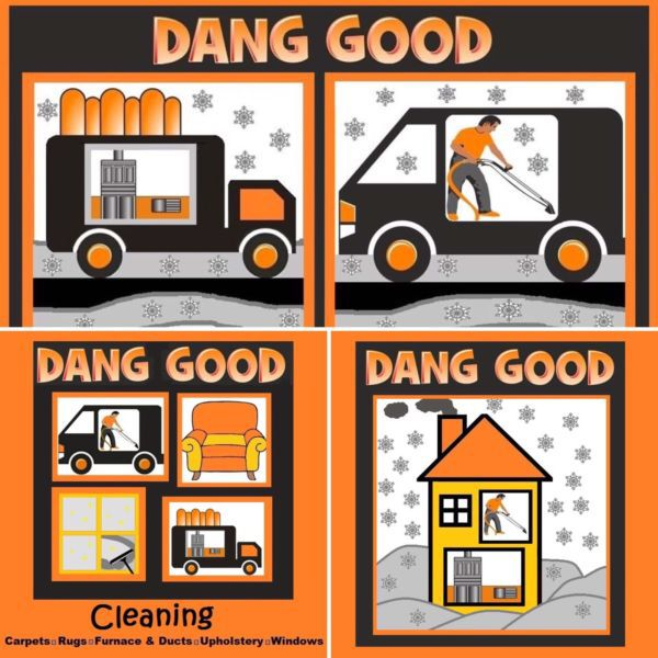 We have some great deals. Check out danggoodclean.com for details. Take action while deals last.  We service Calgary, Airdrie, Crossfield, Carstairs, Balzac. Call 403-984-3680    http://m.danggoodcarpetandfurnacecleaning.com/  A Dang Good Carpet Clean and a Dang Good Furnace Clean, both at a Dang Good Price  We also do HVAC cleaning, dryer vents, upholstery, rugs, mattresses and more.