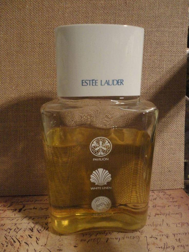 BIG Estee Lauder perfume factice dummy bottle  Pavilion White Linen Celadon
