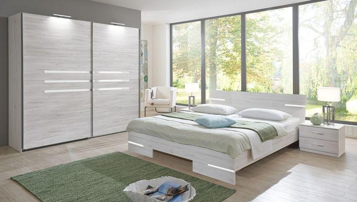 Schlafzimmer komplett Anna Weißeiche 10280 Buy now at https\/\/www - schlafzimmer komplett weiß