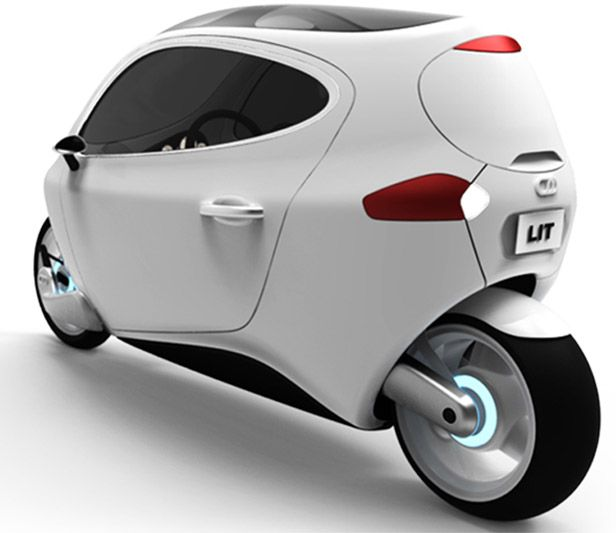 c 1 electric vehicle is it a motorcycle is it a car yes