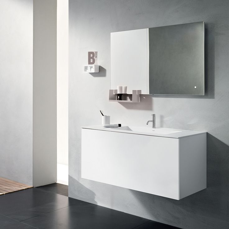 Pair similar colour tones to design a more modern interior aesthetic, but don't forget to use different textures to create a dynamic space!  #clean #modern #bathroom #vanity #tonal #love #design #modernbathroom #modernhome #moderntapware #blu #blubathworks #blubath #decor #interior #interiordesign #instagood #potd #vancouver #yvr #minimal #minimalistic #lifestyle #furniture #beautiful