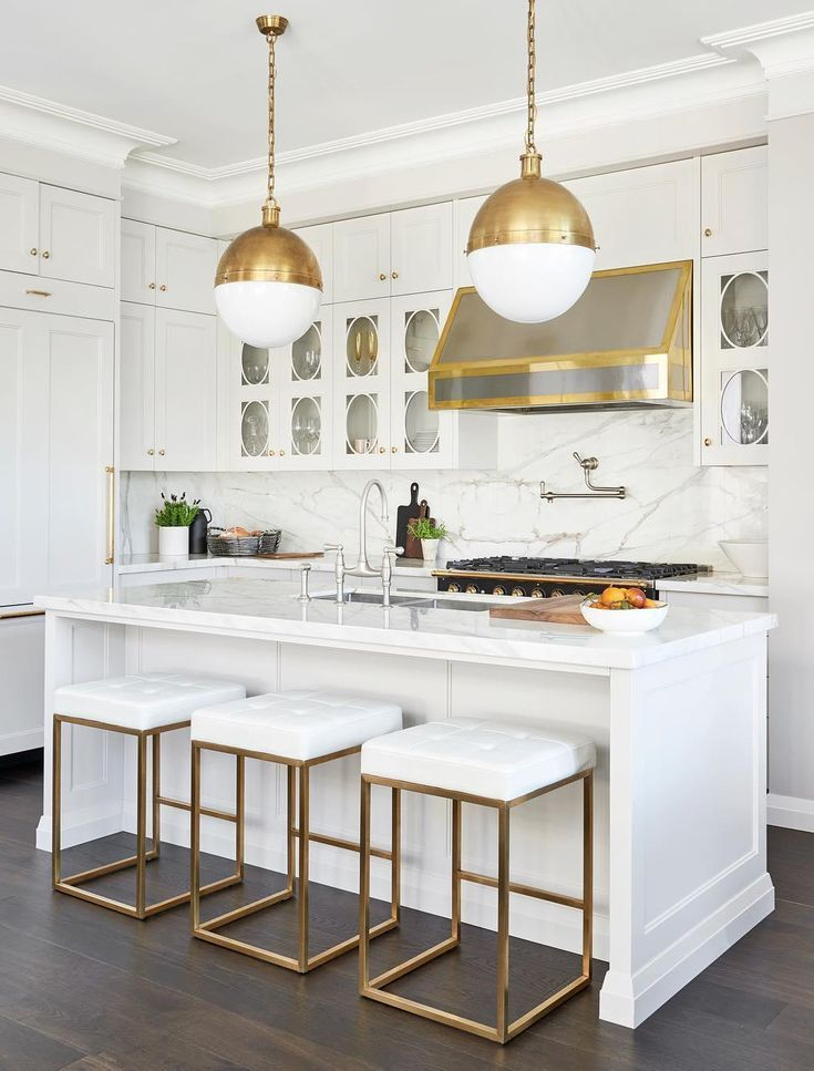 Download Wallpaper Extra Large White Kitchen Island
