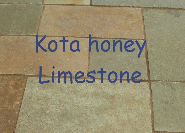 Kota Honey Limestone is available in circle paving, walling stone, setts (cobbles) , palisades , pool coping and crazy paving.....