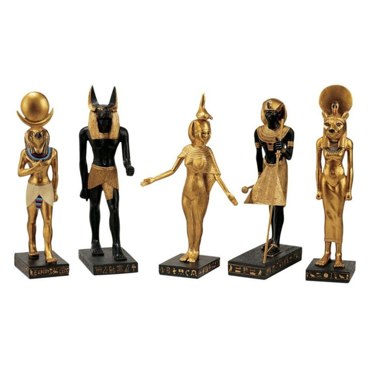 Design Toscano Inc 8.5H in. Gods of the Egyptian Realm Statues - WU9600