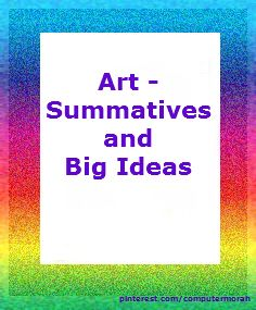 Summative Projects  (year end) and big ideas or themes for projects.