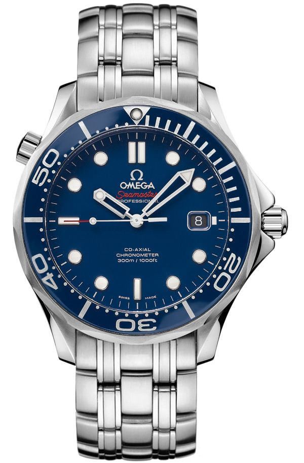212.30.41.20.03.001 Omega Seamaster Automatic Co Axial Mens Watch