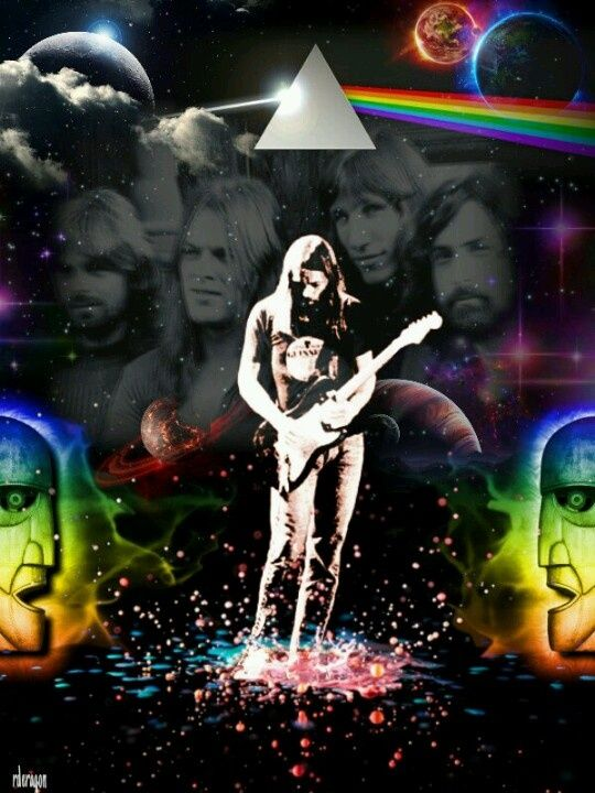 Pink Floyd - roger waters, nick mason, richard wright, david gilmour www.poetryofmusic.com