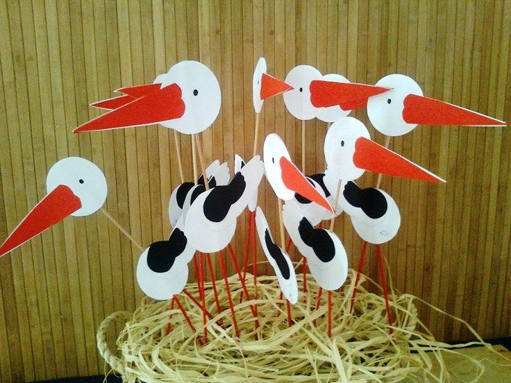 stork craft idea  |   Crafts and Worksheets for Preschool,Toddler and Kindergarten