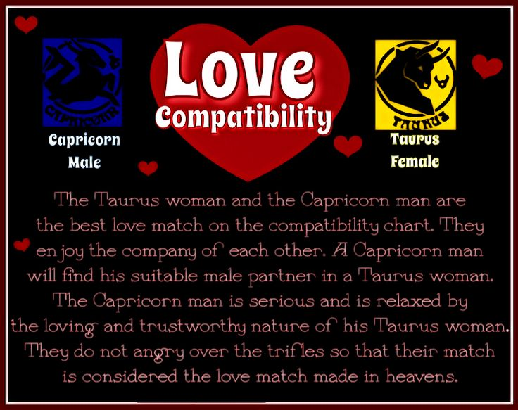 The Best and Worst Lovers for Taurus