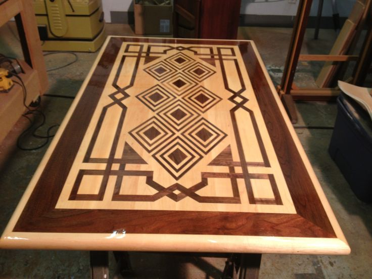 Wood Inlay Top Table Designs : Best images about cnc router ideas on pinterest