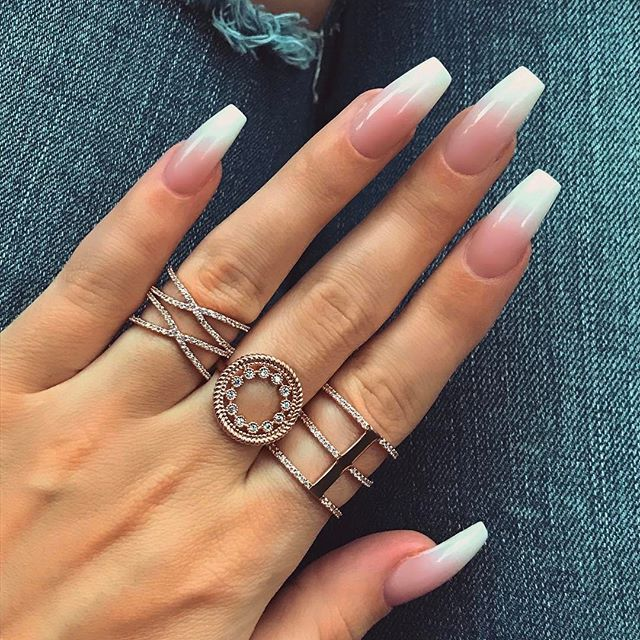 Acrylic Nails French: Best 25+ French Acrylic Nails Ideas On Pinterest