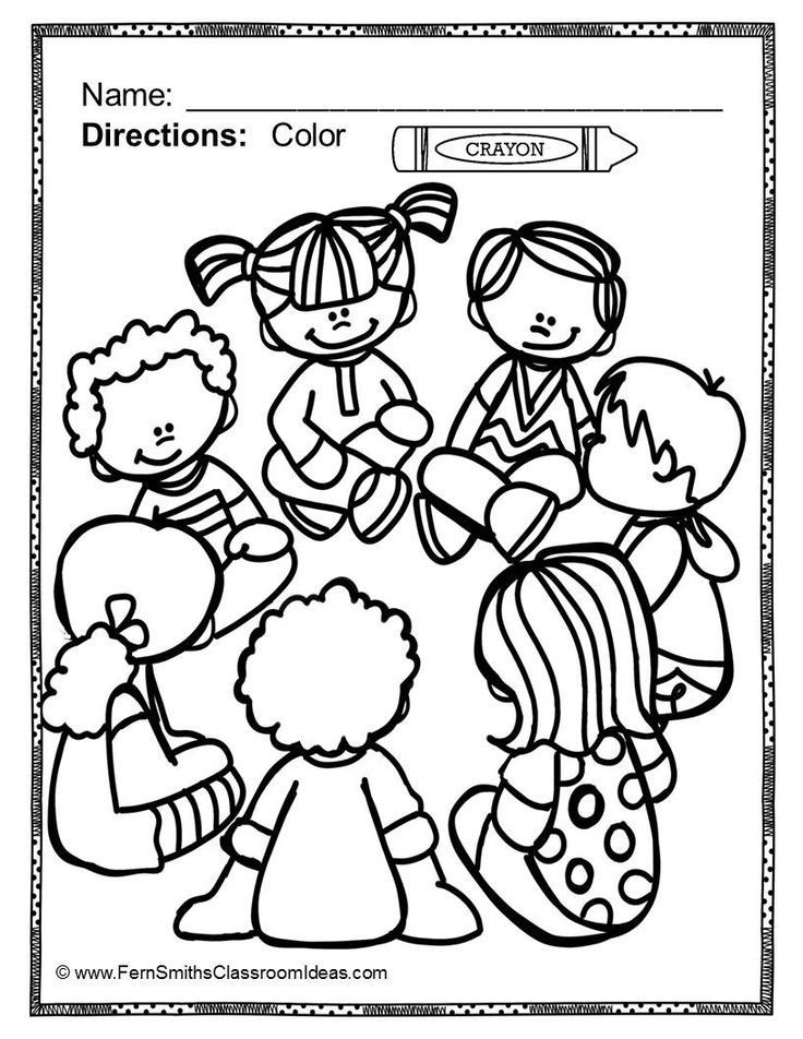 fun school coloring pages - photo#12