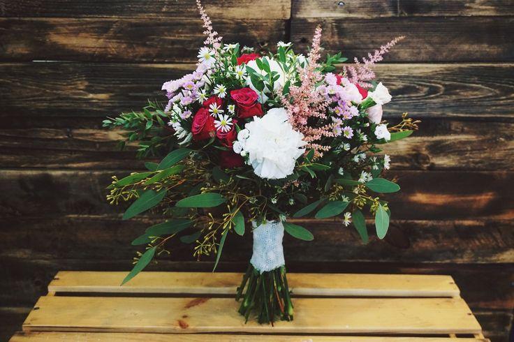 #bouquet #flowers #wedding #florist #rustic