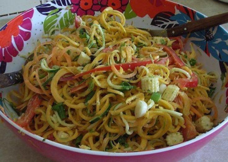 Satay-Style Butternut Noodles | The Rawtarian
