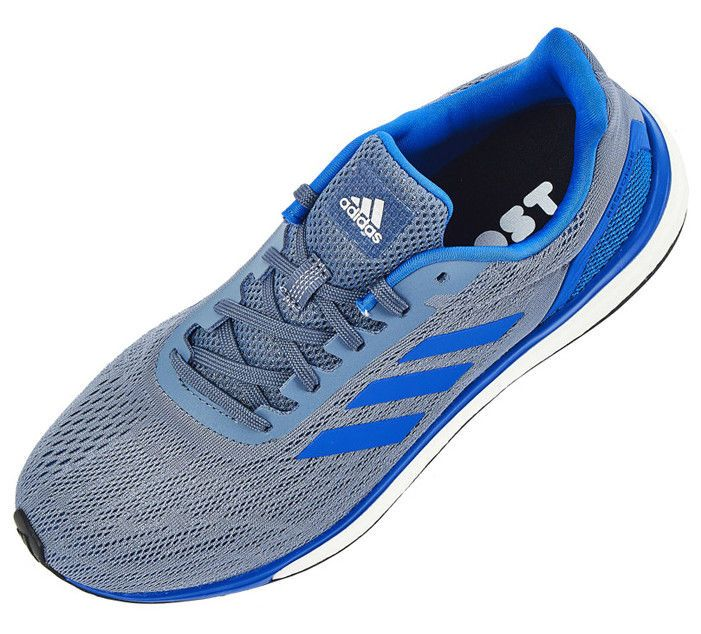 online retailer 9577f db543 adidas Response Men's Running Shoes Blue Sport Fitness Gym ...