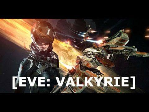 Eve Valkyrie VR Gameplay, ShipYard Multiplayer