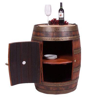2 Day Designs, Inc Full Barrel Cabinet
