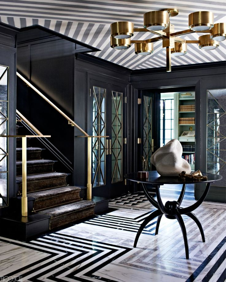 Designer Home Interiors: Awesome Attractive Black And White Decor Idea For Luxury
