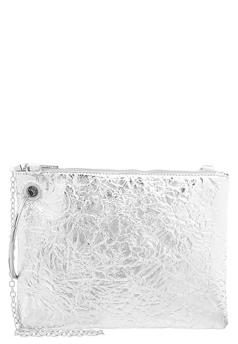 Missguided Clutch - silver for £21.99 (19/12/16) with free delivery at Zalando