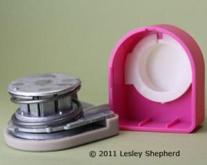 Learn how to fix or make minor repairs to stuck decorative paper punches with plastic covers. There are other methods to fix it without taking it apart.: How to Take a Plastic Covered Paper Punch Apart