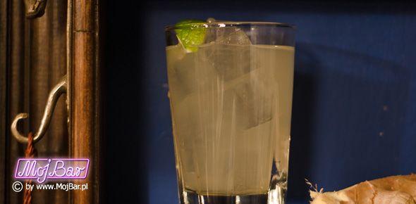 MEXICAN MULE Klasyk na tequili: tequila srebrna - 40ml, ginger ale - 100ml, limonka sok - 20ml syrop cukrowy - 10ml  Przepisy na drinki znajdziesz na: http://mojbar.pl/przepisy.htm