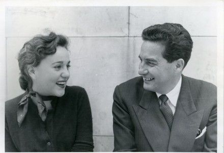 Elena Paz Garro y Octavio Paz