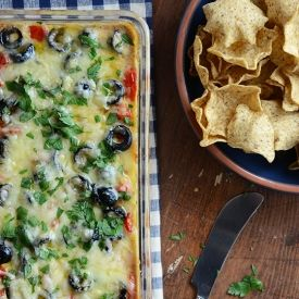 Warm bean dip, Bean dip and Warm on Pinterest