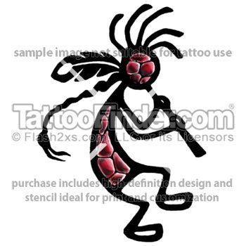 Kokopelli Tattoos | Tribal Kokopelli Tattoo Kokopelli tattoo preview