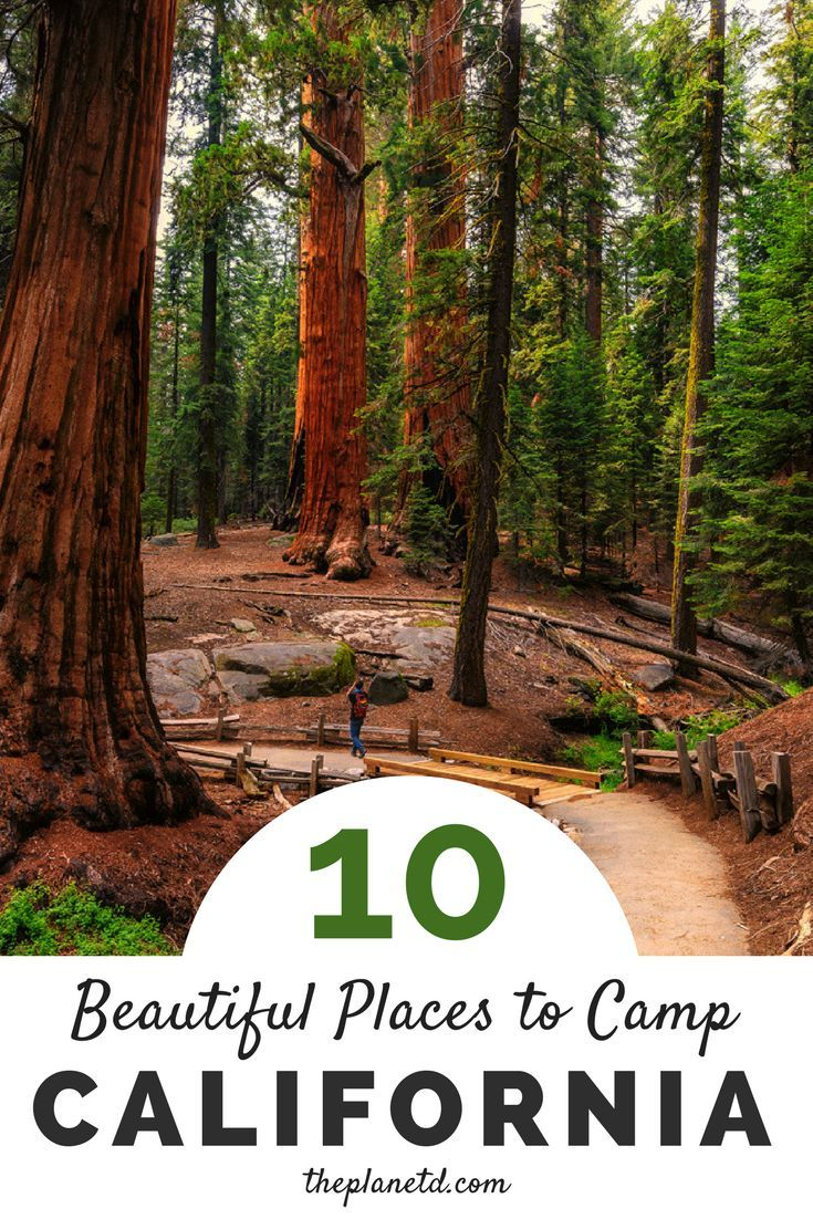 top 10 best places to camp in california | california travel tips