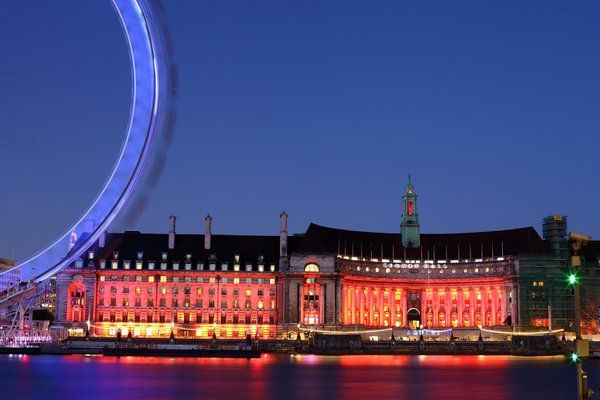 London bei Nacht am 19. Juli 2013