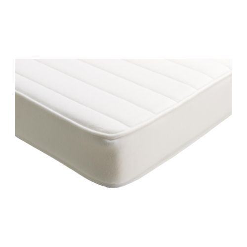 IKEA - VYSSA SKÖNT, Mattress for cot, , Pressure-relieving cold foam gives good comfort for your baby.A durable mattress that can be used for a longer period of time.The cover can be machine washed which helps keep a hygienic sleeping environment for your baby.Both sides can be slept on, so it lasts longer.Breathable jersey cover that is soft and nice to your baby's skin.