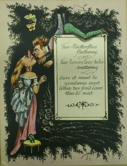 Comic Valentine circa 1870s