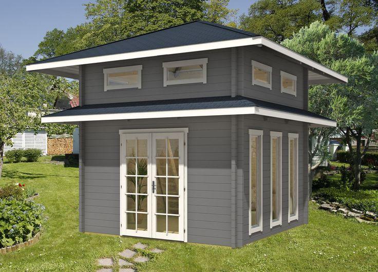 die besten 25 flachdach gartenhaus ideen auf pinterest gartenhaus flachdach modern. Black Bedroom Furniture Sets. Home Design Ideas