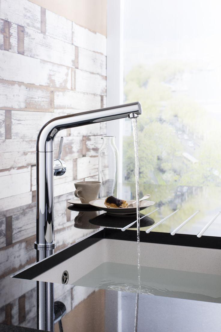 45 best Kitchen Taps and Sinks images on Pinterest | Kitchen modern ...