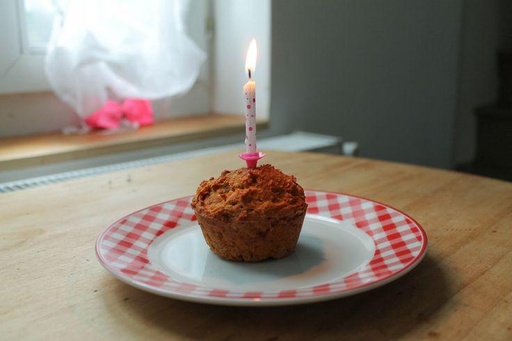 Prune & Violette: Un gâteau d'anniversaire sain pour les 1 an de bébé (sans oeufs, sans plv)
