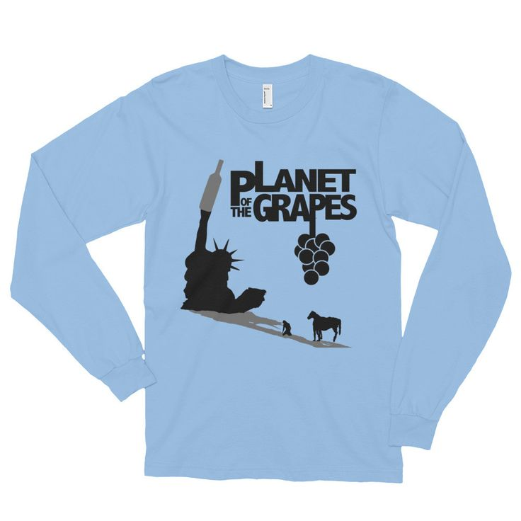 Planet of the Grapes Shirt (Long Sleeve)