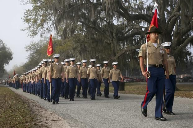 Marines With India Company 3rd Recruit Training Battalion Graduated From Recruit Trai Parris Island Marine Corps Bootcamp Marine Corps Bootcamp Parris Island