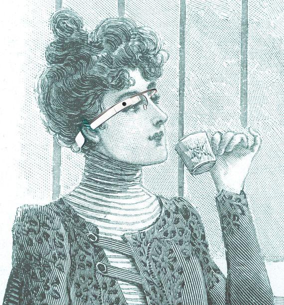 google glass - zen futuristic eyewear #future