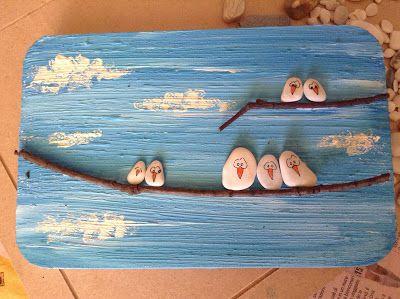 icoloridilaura: TUTORIALS: Un quadretto che sa di mare..