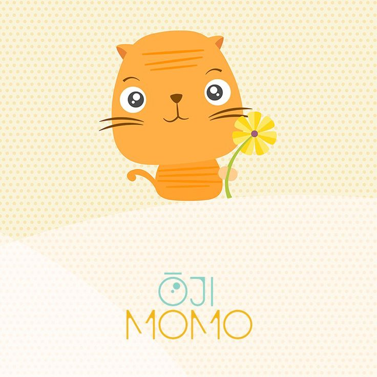 Meet Ōji Momo: stickerpack voor iOS 10 :)